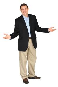 Sean Glaze Standing White Background