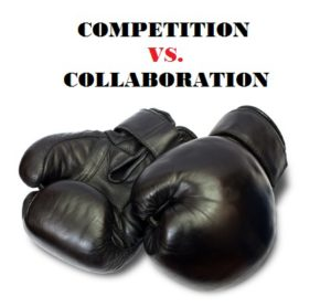 competition vs collaboration Competition a strong idea that propels many of us to motivate in real ways i'm fiercely competitive i always have been having played many sports when i was a.