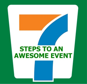 seven steps to an awesome team building event