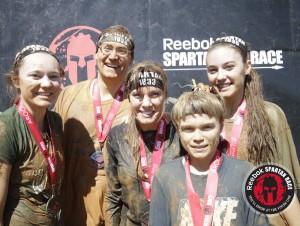 family at spartan sprint atlanta