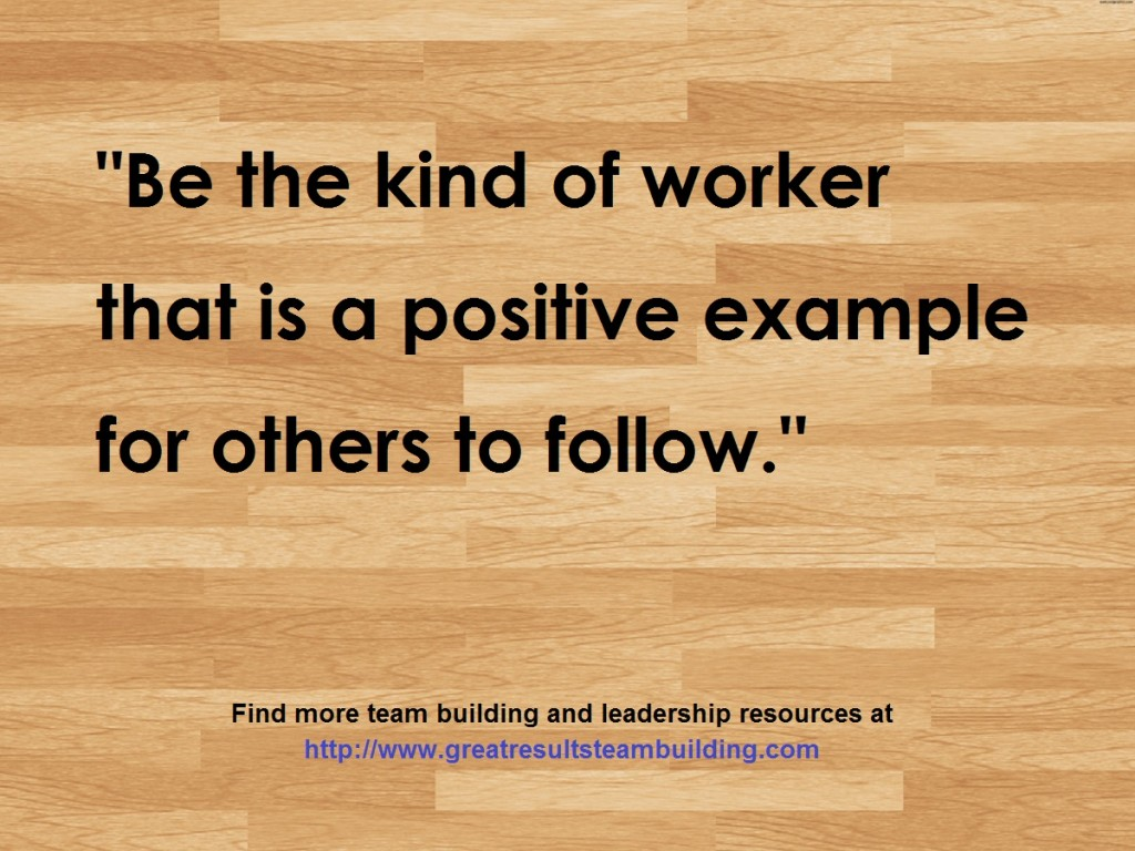 image quote be the kind of worker