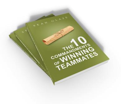 Winning Teammates book Stack