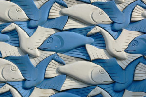 fish and bird tessellation